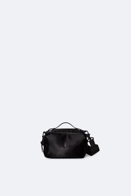 Rains Velvet Micro Box Bag - Black