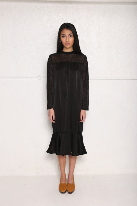 Intentionally Blank BINGHAM Dress Black