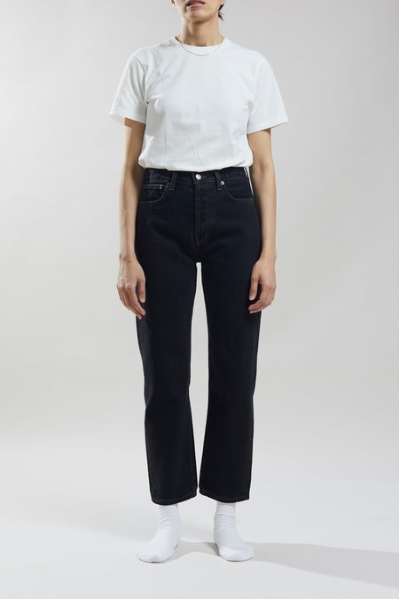 Still Here New York Tate Crop Original Jeans - Washed Black