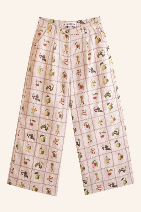 Meadows Boxwood Trousers - Fruit Check
