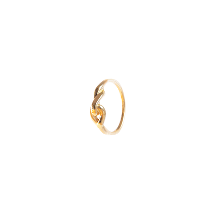 Hana kim Small embrace ring - gold