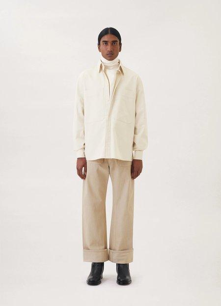Lemaire Blouse shirt top - almond