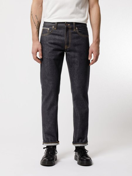 Nudie Jeans Gritty Jackson Jeans - Dry Maze Selvage