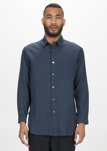 Sage de Cret Lightweight Cotton Button Up Shirt