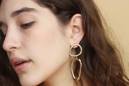 Drift Riot Free Form Drop Earrings