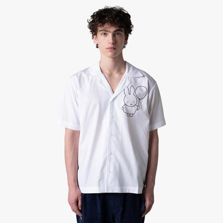 Pop Trading Company x Miffy Hugo Shirt - White