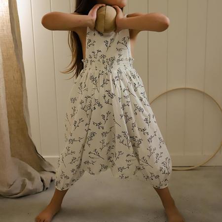 Kids Feather Drum Harem Jumpsuit - Sprig