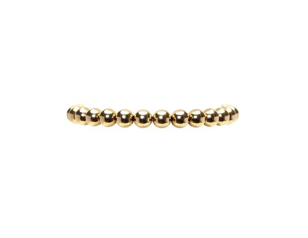 Karen Lazar 6mm Bracelet - Yellow Gold Filled