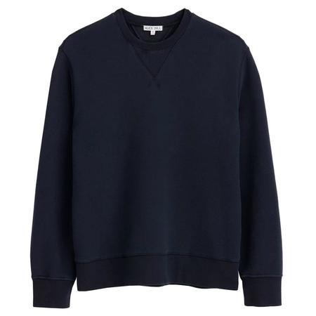 Alex Mill Garment Dyed Crewneck Sweatshirt - Navy