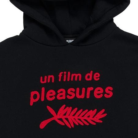 PLEASURES Film Hoody - Black