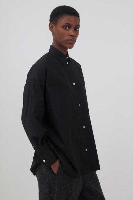 skall studio Edgar shirt - black