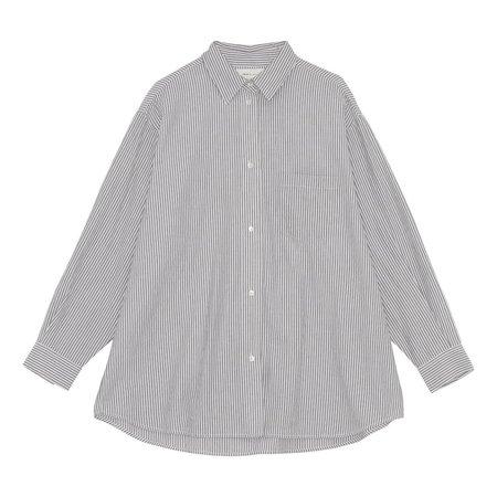 skall studio Edgar shirt - stripes