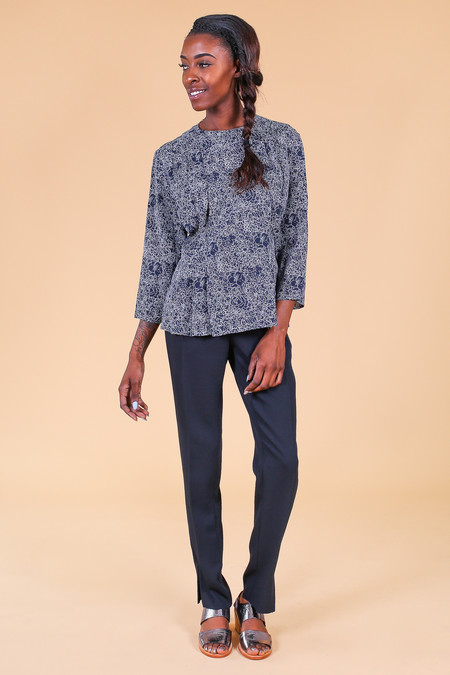 Steven Alan Redwood Top in Navy
