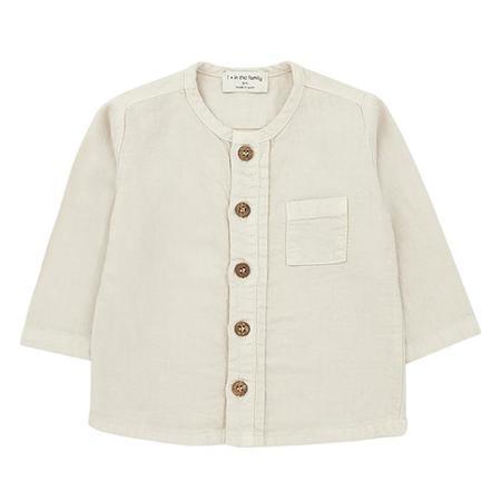 kids 1+ In The Family Baby And Child Custo Shirt - Cream