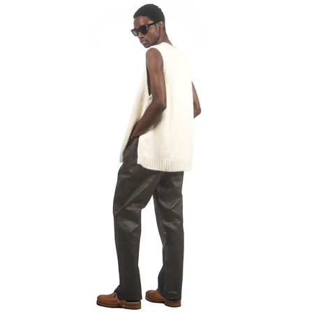Our Legacy FORMAL RIDER CUT pants - MUD DYED COTTON