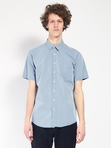 Schnayderman Leisure Indigo Jeans Shirt
