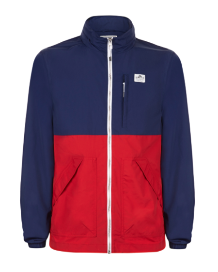 Penfield Barnes Two Tone Windbreaker