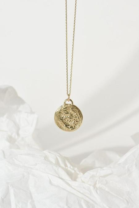 Wild Fawn Ancient Traces Pendant Necklace - 9ct Gold