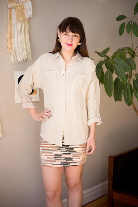 Valérie Dumaine Cypress Top - Natural