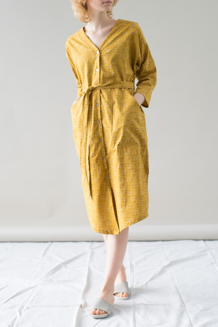 REIFhaus Big Shirt Dress in Haori Print