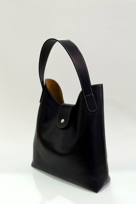 Steve Mono Calfskin Annie Shoulder Bag