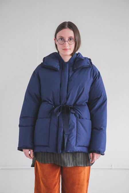 Sara Lanzi Down Puffer Jacket - Navy