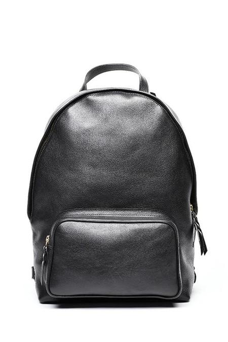 Lotuff Leather Zipper Backpack