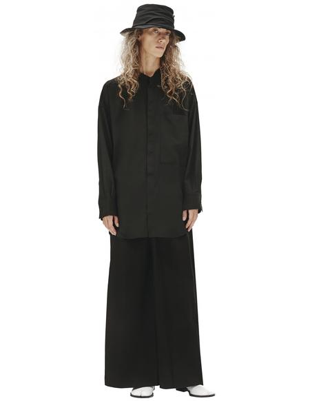 Y's Mixed Shirt - Black