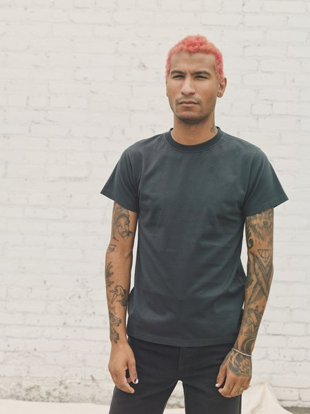 PHIPPS Orca Garment Dyed Classic T-Shirt - Black