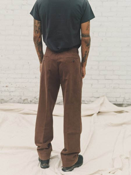 PHIPPS Walrus Garment Dyed Ranger Cotton Prospector Pants - Brown