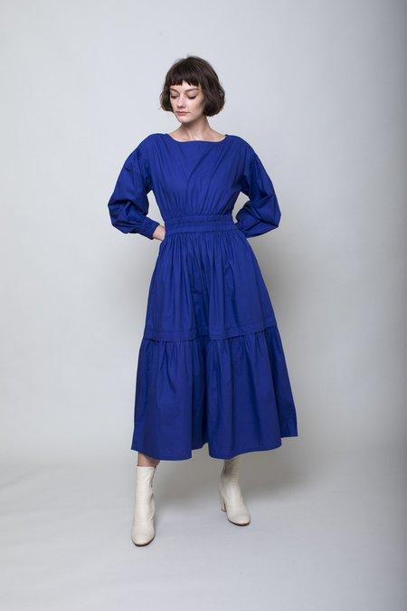Apiece Apart Estrella Midi Dress - Ultramarine