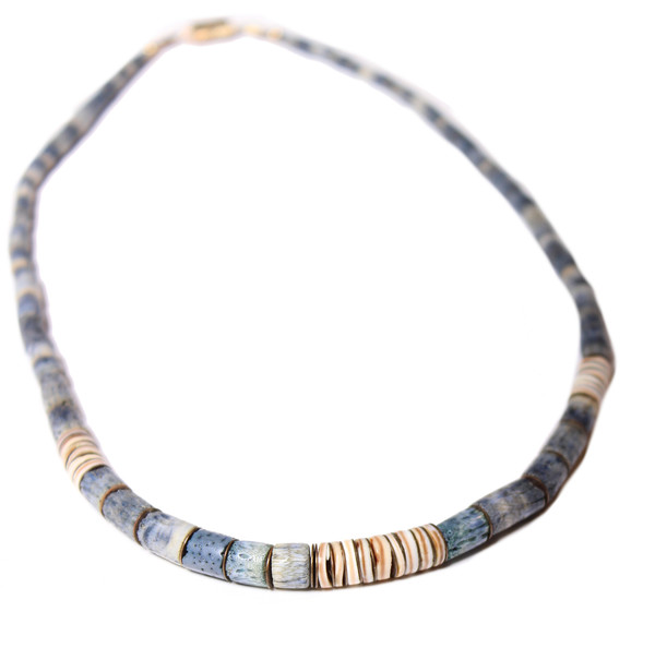 Abel Indigo Strand Necklace