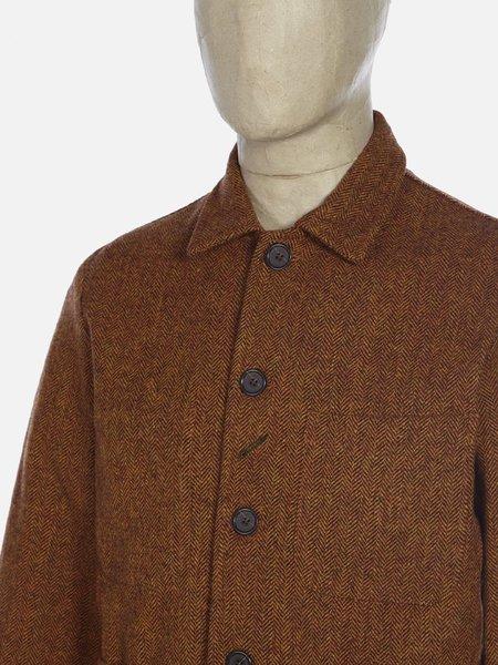 Universal Works Herringbone Bakers Jacket - Orange