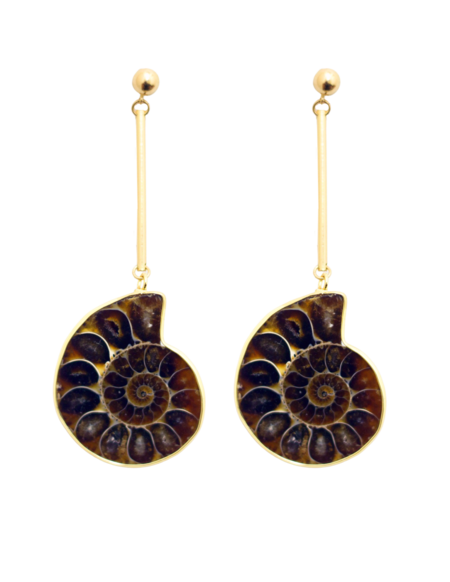 Serendipitous Project Fossil Earrings
