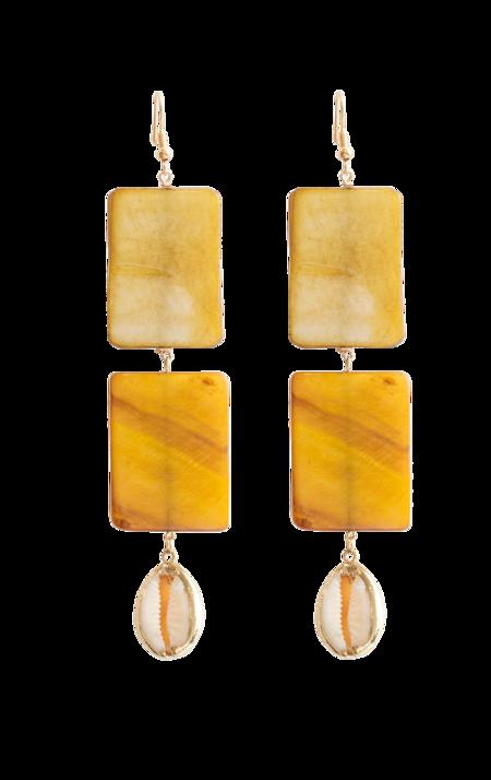 Serendipitous Project Golden Earrings