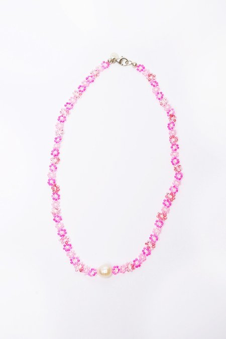 Surfing Cowgirl THE AQUARIUS COCKTAIL necklace - pink