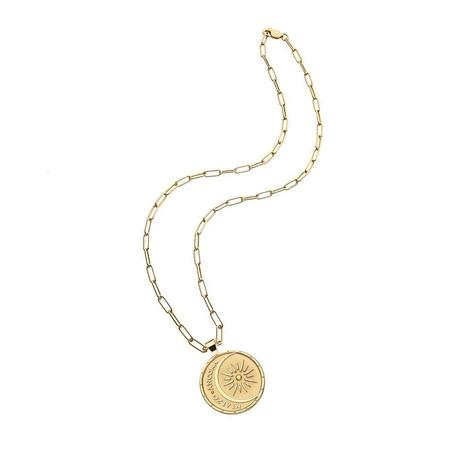Jane Winchester MI ALZO ANCORA Strong Pendant necklaxe - 14k gold