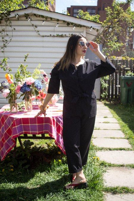 Eve Gravel Adjani Jumpsuit - Black