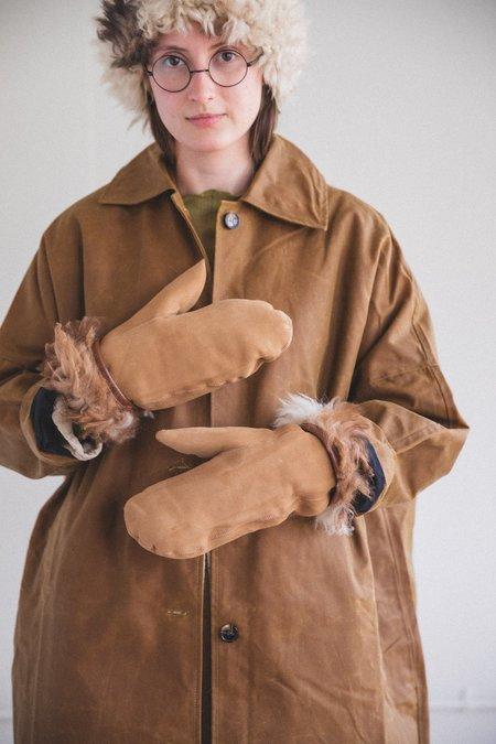 CAWLEY STUDIO SHEEPSKIN MITTENS Gloves