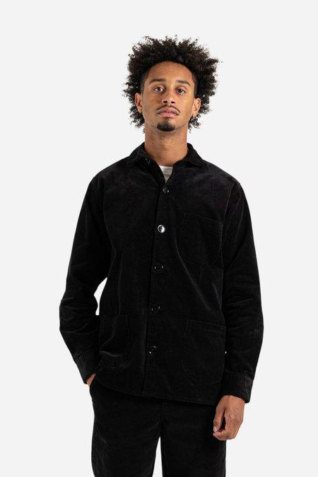 Schnayderman's Cord Overshirt - Black