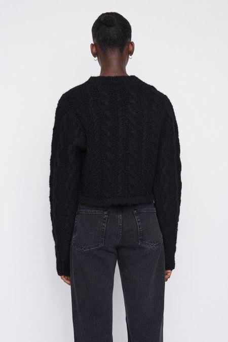 Our Legacy Intact Two Face Knit sweater - Black