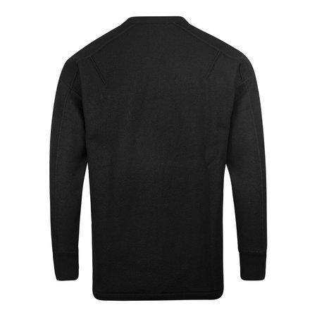 adidas Y-3 M CL Merino Logo Crewneck Knit - Black