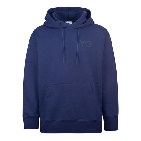 Adidas Y-3 M Classic Chest Logo Hood - Navy