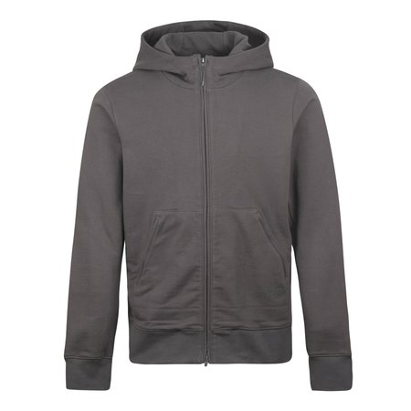 adidas Y-3 M Classic Terry Water Resistant Zip Hood - Charcoal