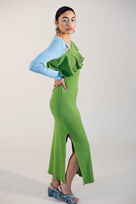 Abacaxi Ruffle Divya Dress