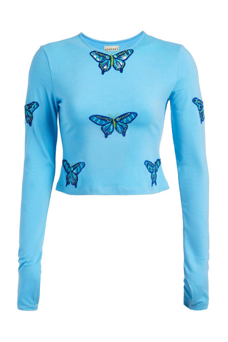 Abacaxi Eyelet Butterfly Tee