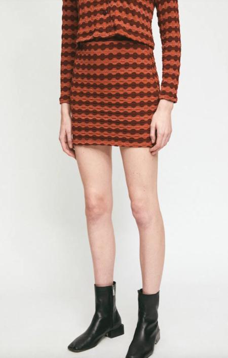 RITA ROW TAMARIX SKIRT - Orange/Brown
