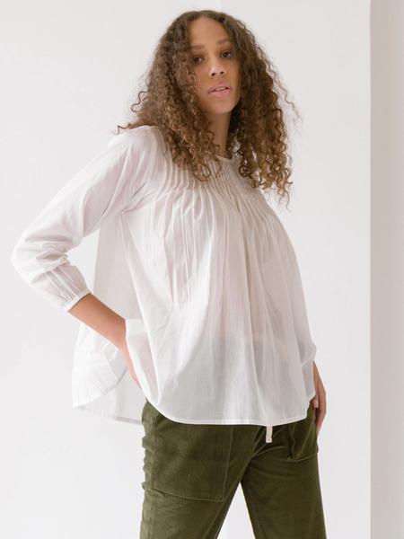 LAUDE the Label Simone Top - Ivory