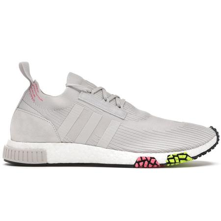 Adidas NMD_Racer Primeknit Shoes - Gray One