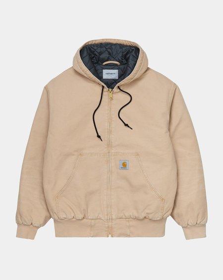 CARHARTT WIP OG Active Hamilton Brown Aged Canvas Jacket